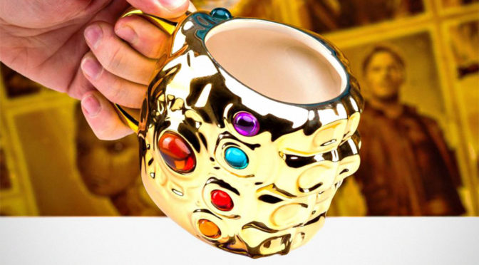 Infinity Gauntlet  Mug: The Power Of The Universe IS In Your Coffee