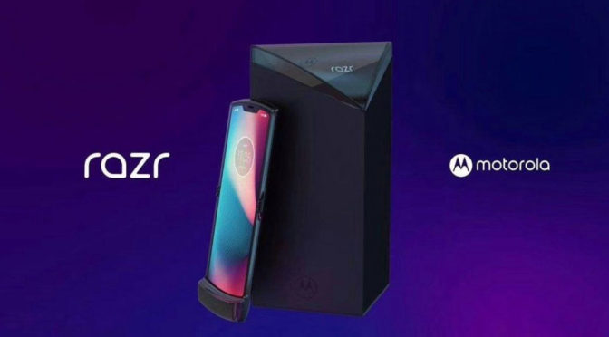 Motorola Razr Folding Phone Rendered