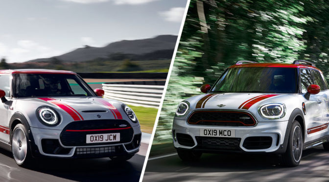 New MINI JCW Clubman and JCW Countryman