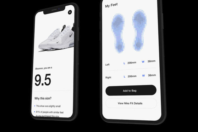 Nike Fit Digital Foot Measurement Tool