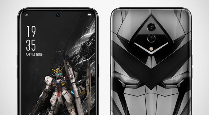 Oppo x Gundam Android Smartphone Coming Soon