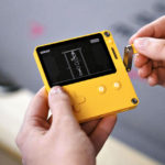 Playdate: A Handheld Gaming System With A Crank As One Of The Controls