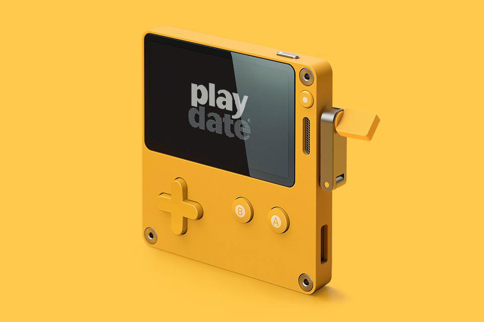Playdate Handheld Gaming System by Panic