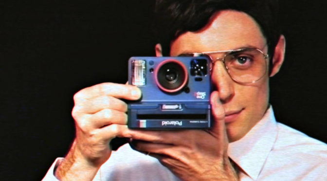Polaroid OneStep 2 Turned Upside Down For <em>Stranger Things</em> Edition