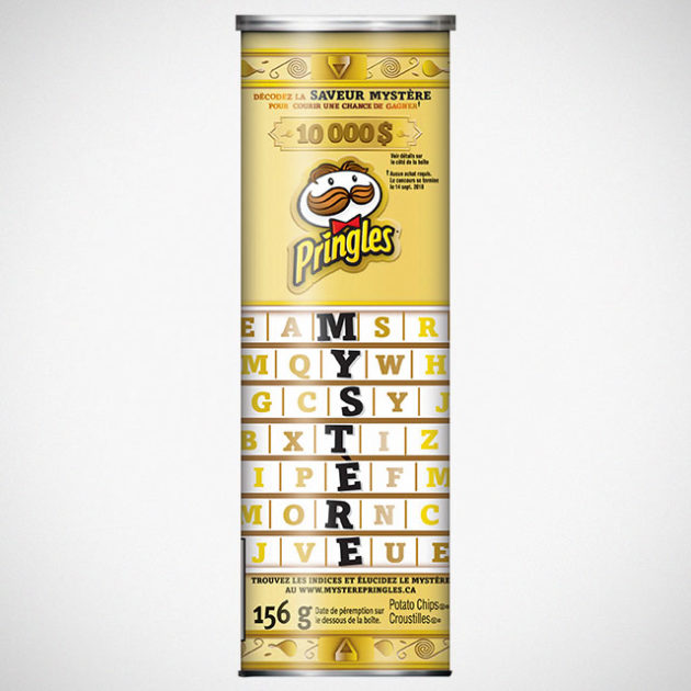 Pringles Guess New Mystery Flavor Contest