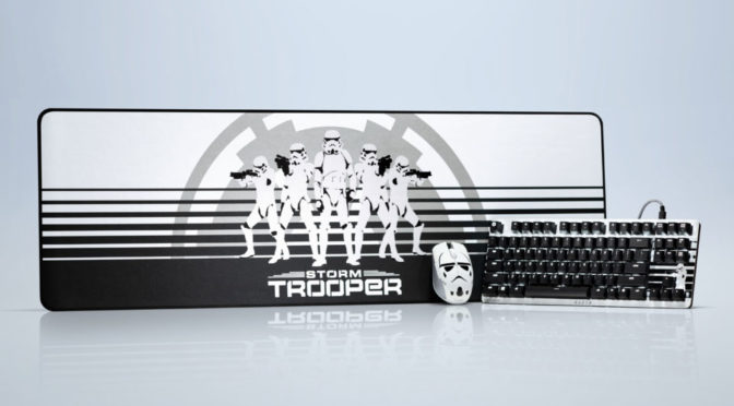 Razer Turns To The Dark Side With Stormtrooper Edition Peripherals