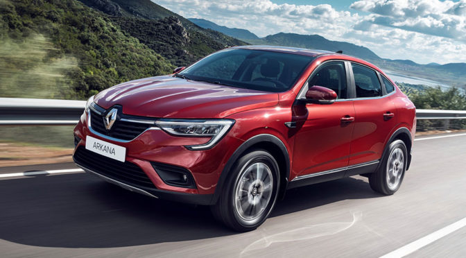 Here's The New Production Version Of Renault Arkana Coupé SUV For Russia