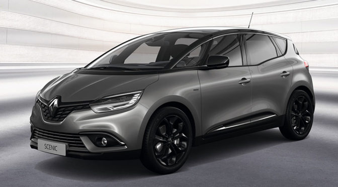 Renault Introduces Scénic and Grand Scénic Black Edition
