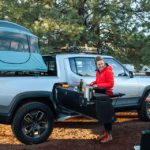 Rivian Show Off Pullout Kitchen For Its Upcoming Electric Pickup Truck