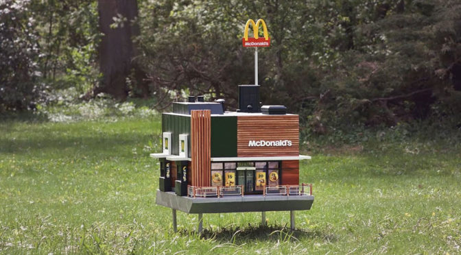 World's Smallest McDonald's In Sweden