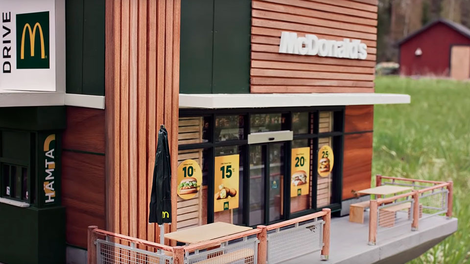 World's Smallest McDonald's In Sweden