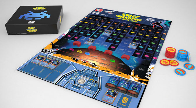 Space Invaders The Board Game