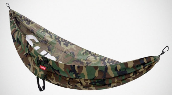 Supreme X ENO Hammock Is Out In The Wild, Did You Get It?