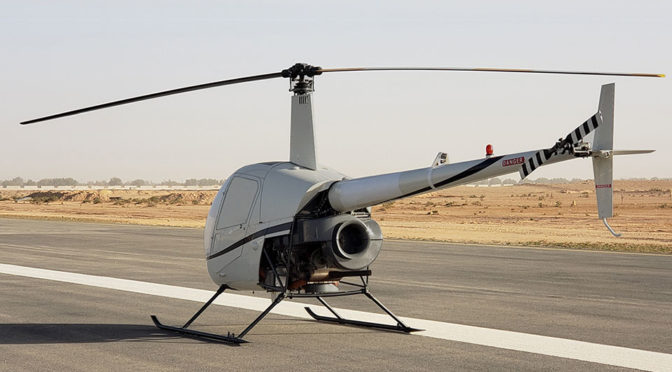 UAVOS Robinson R22 Unmanned Helicopter