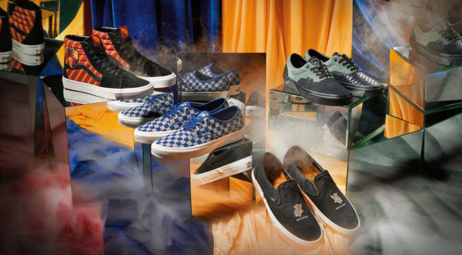 Vans and Warner Bros. Teamed Up For <em>Harry Potter</em>-themed Sneakers