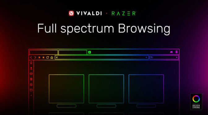 Vivaldi Razer Chroma-enabled Web Browser