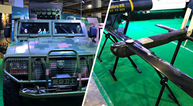 Yanjing Auto Drone Launching Vehicle