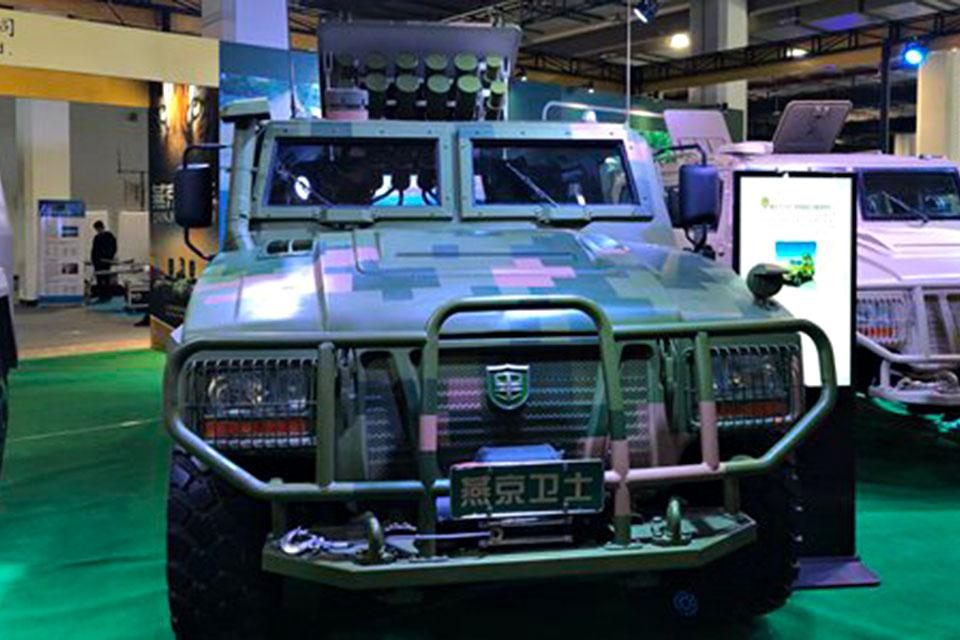 Yanjing Auto Drone Launching Vehicle