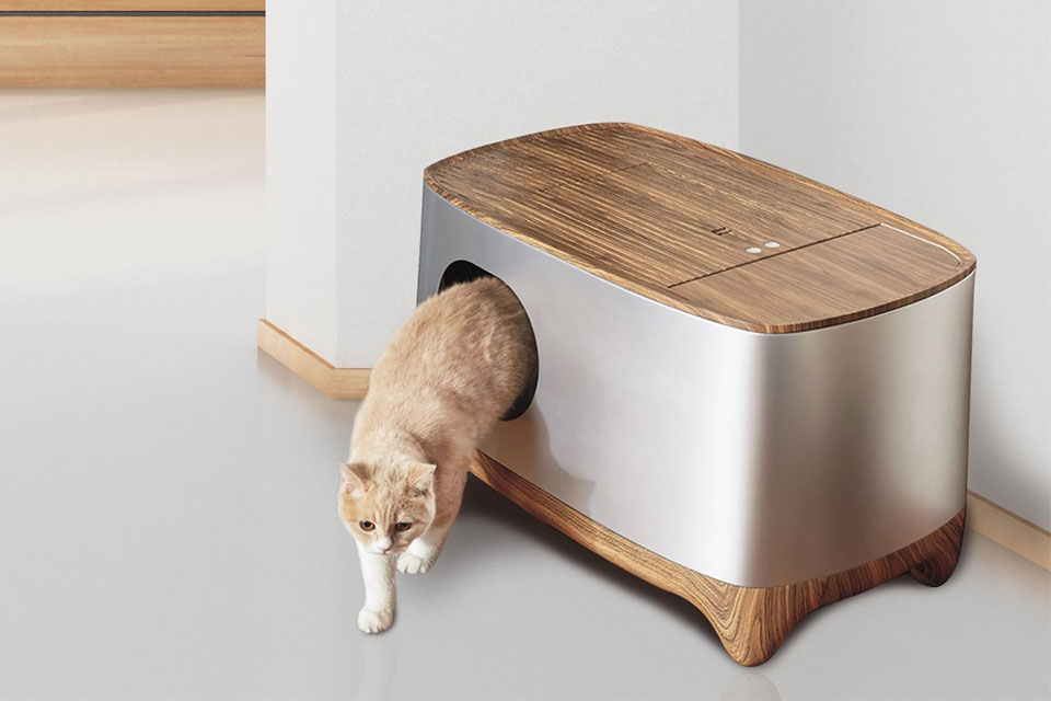 iKuddle Auto-Pack Cat Litter Box