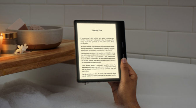 2019 Amazon Kindle Oasis eReader