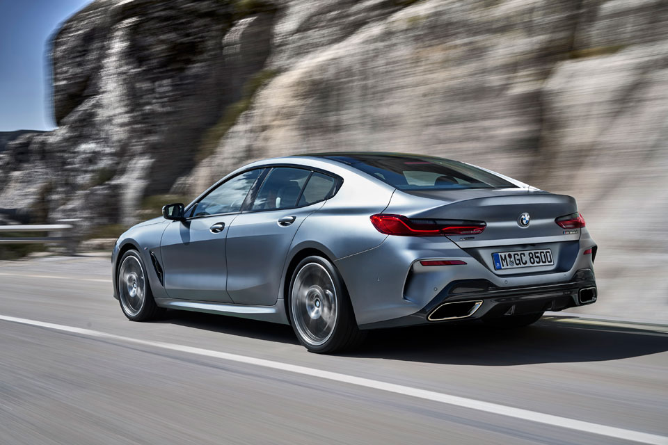 2020 BMW 8 Series Gran Coupe Is Yet Another Coupe But With