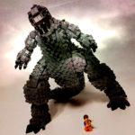 Someone Made A Monstrous 4,000-brick LEGO MOC <em>Godzilla</em>