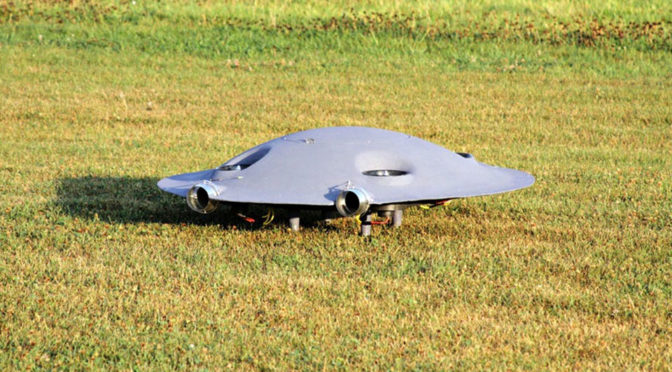 Romania's Omnidirectional Drone Looks Like A UFO And Flies Like One Too