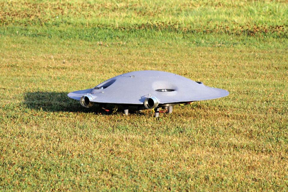 Romania's Omnidirectional Drone Looks Like A UFO And Flies