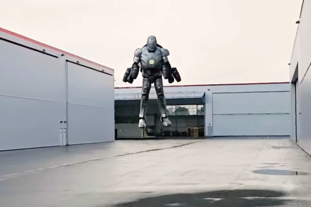 Adam Savage Built Real Flying Iron Man Suit