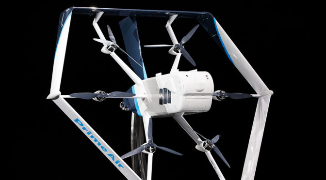 Amazon Prime Air Delivery Drone Revealed