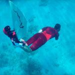 Amphi Powered Bionic Monofin Pushes You Through Underwater, Handsfree