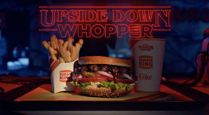 Burger King Upside Down Whopper