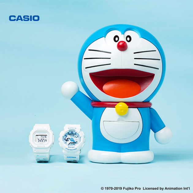 CASIO Baby-G x Doraemon Watches