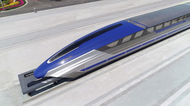 CRRC 600 Km/h Maglev Train Prototype