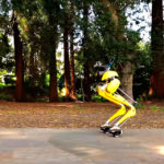 Researchers Taught Bipedal Robot To Travel On Hovershoes