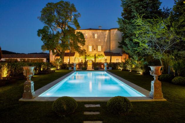 Chateau d'Estoublon Provence France