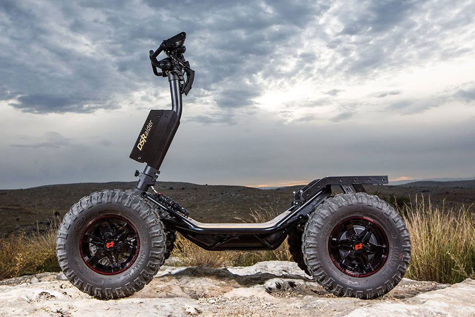 EZ Raider Is The Jeep/Land Rover Of The Electric Scooter