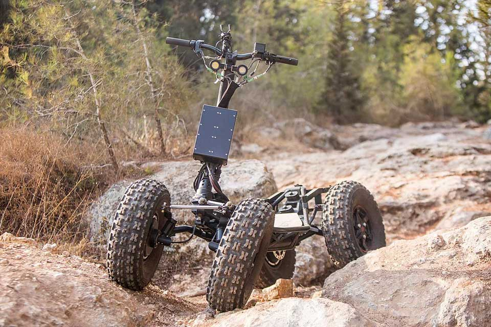 EZ Raider All-Terrain Electric Scooter
