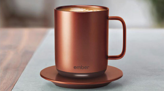 Ember App-enabled Mug Can Maintain Your Desired Temperature For An Hour