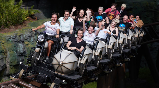 Hagrid's Magical Creatures Motorbike Roller Coaster Opens In Universal Orlando