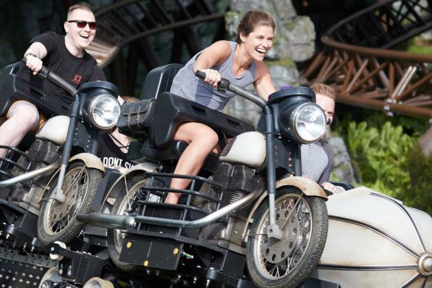 Hagrid Magical Creatures Motorbike Roller Coaster