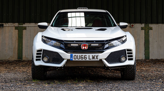 Wait, What? There's Going To Be An Off-Road Honda Civic Type R?