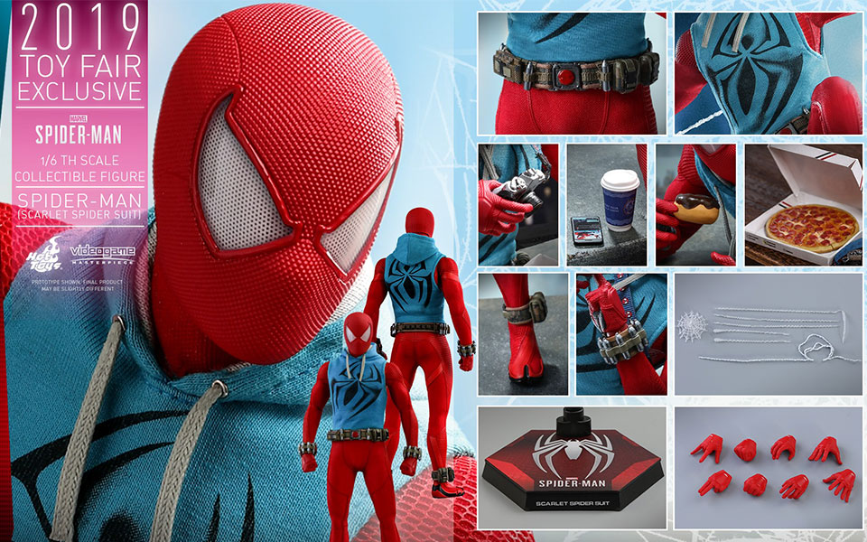 Hot Toys Scarlet Spider Suit Spider-Man