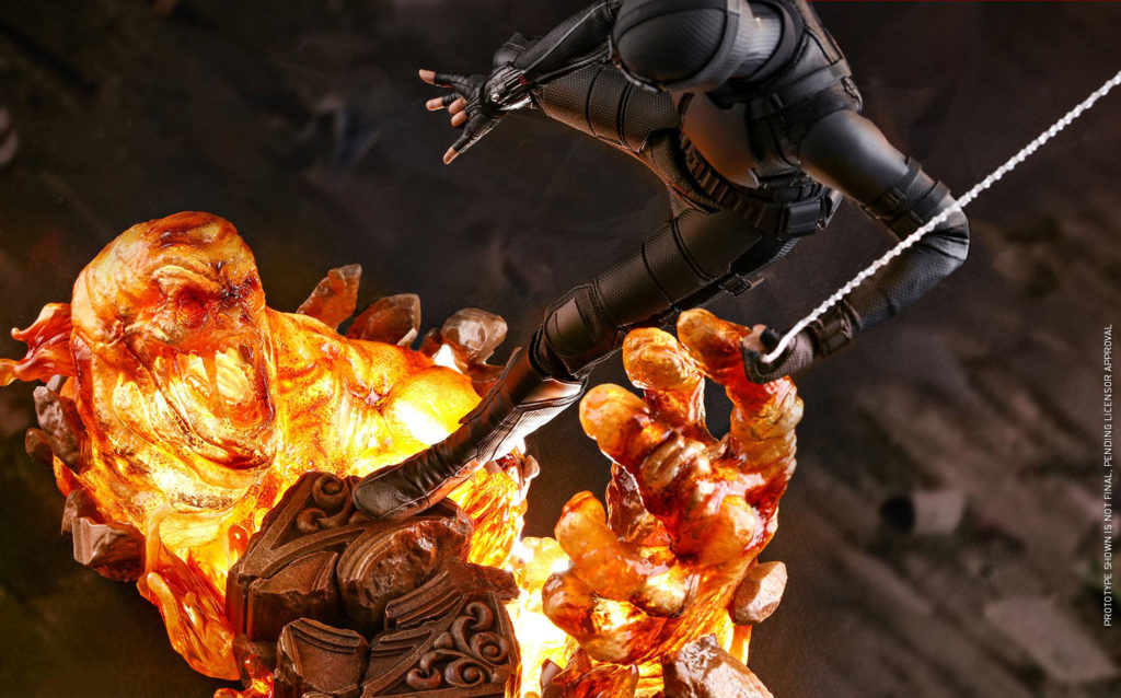 Hot Toys Stealth Suit Spider-Man Figures