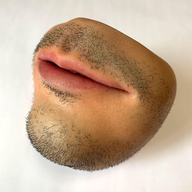Human Mouth Coin Purse