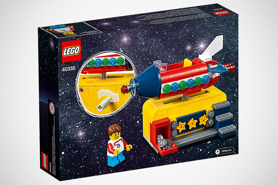 LEGO 40335 Space Rocket Ride Gift