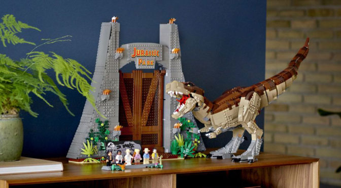 LEGO Announced UCS Jurassic Park T.Rex Set With Massive 3,000+ Pieces