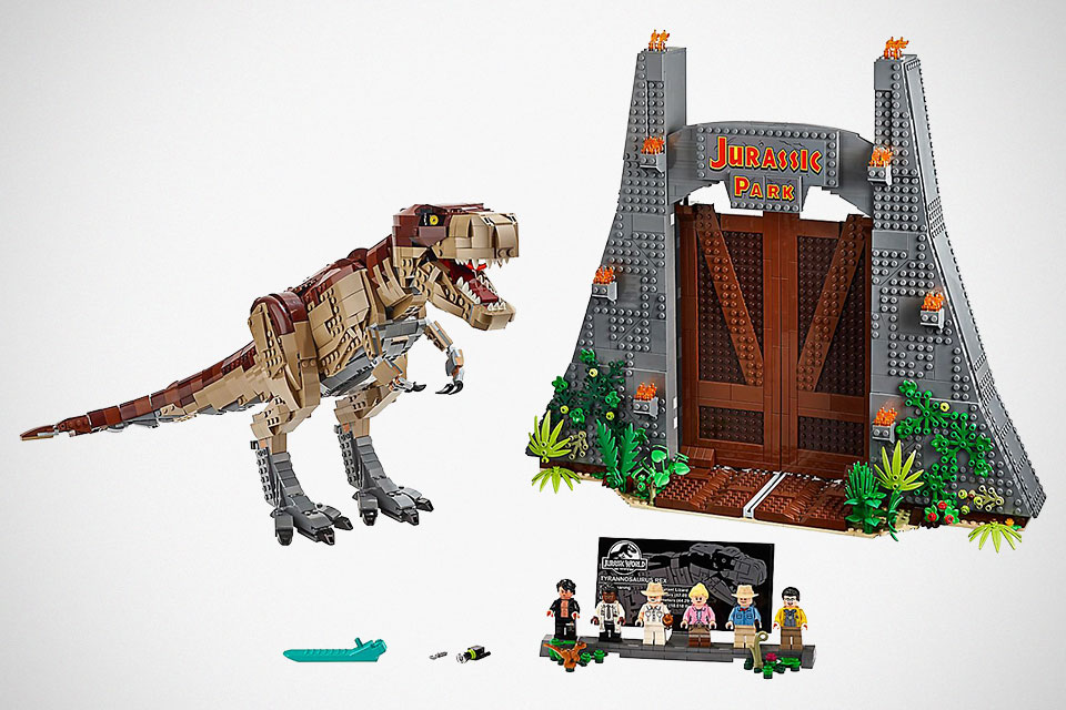 LEGO 75936 Jurassic Park: T. rex Rampage