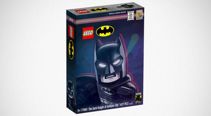 LEGO <em>Batman</em> 80 Years SDCC Exclusive Set Is A Dope Gotham Diorama