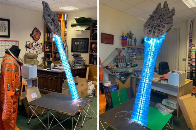LEGO UCS Millennium Falcon Hyperdrive